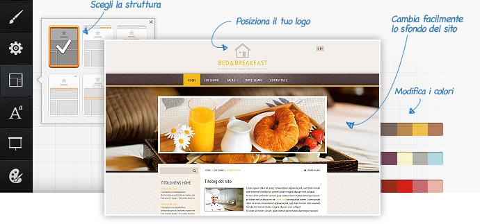 Template siti web e modelli grafici per creare il tuo sito for Siti di design